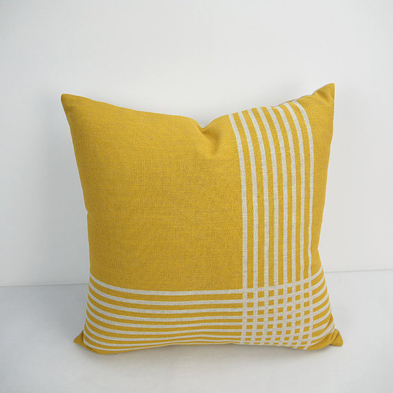 40x40 Inch Yellow Pillow Cover Geometric Decorative Throw Pillows Fascinating 24 Inch Pillow Cover