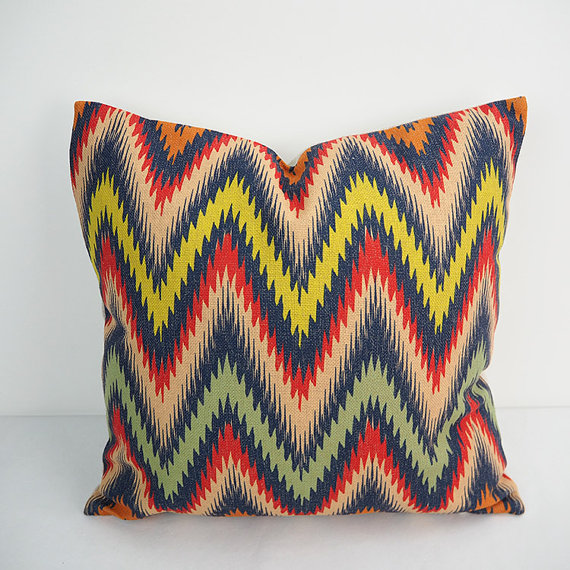 Chevron pillow extra large cushion covers 24 inch pillow covers